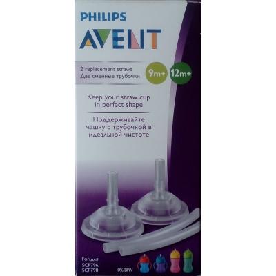 Philips AVENT Brčko do hrnečku s ohebným brčkem 2 ks