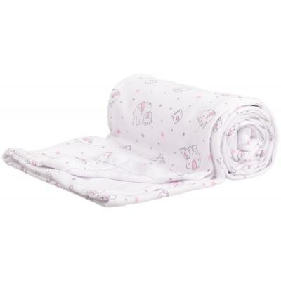 KAARSGAREN-Letní deka slon růžový