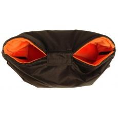 KAARSGAREN-Nový rukávník na kočárek černo oranžový