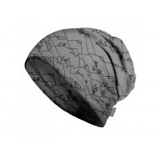 Unuo - Dětská čepice fleecová spadená, Hory