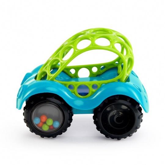 Hračka autíčko Oball 3m+, modré
