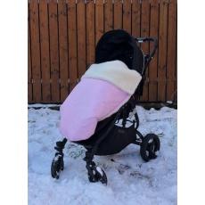KAARSGAREN-Baby pink zimní deka merino nepadací