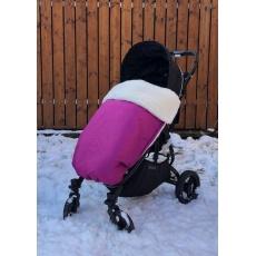 KAARSGAREN-Fialová zimní deka merino nepadací