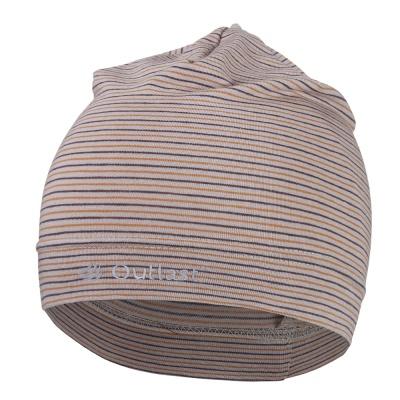 Little Angel-Čepice tenká pruh Reflex Outlast® - pruh sv.hnědomedový Velikost: 2, 39-41 cm