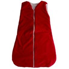 KAARSGAREN-Dětský spací pytel červený 90 cm