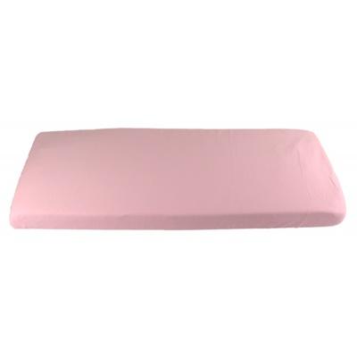 KAARSGAREN-Růžové prostěradlo do kolébky z biobavlny