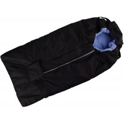 KAARSGAREN-Fusak černo-světlemodrý s fleece podšívkou