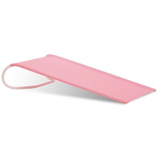 PETITE&MARS Lehátko kojenecké Meli do vaničky - pink (růžové)