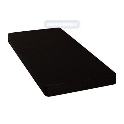KAARSGAREN-2v1 Černé prostěradlo 160x200cm a chránič matrace