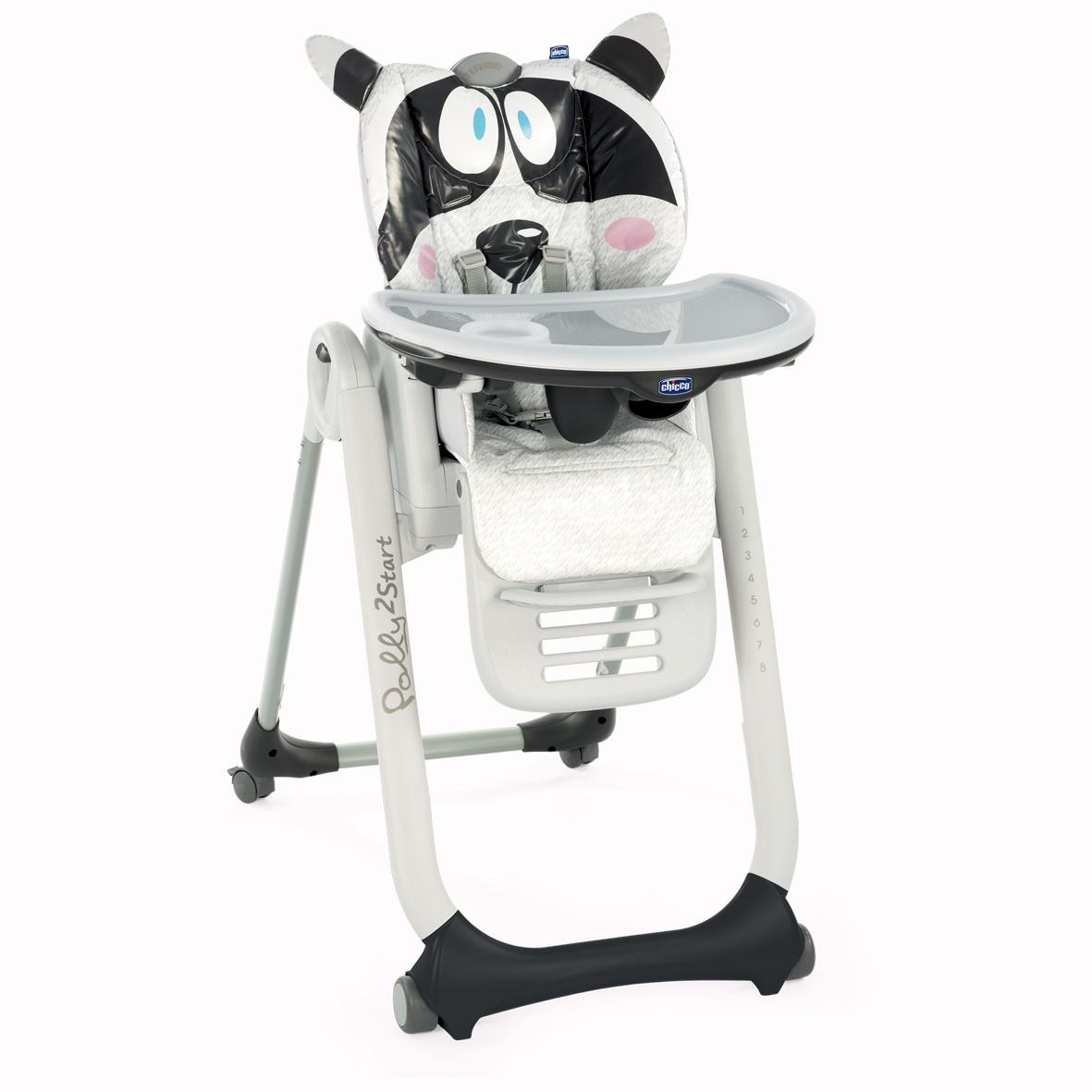 Chicco Židlička jídelní Polly 2 Start - Honey Bear