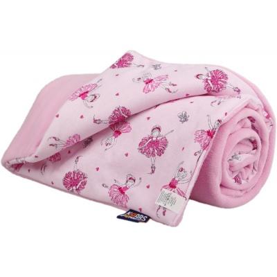 KAARSGAREN-Zateplená dětská deka růžová baletky