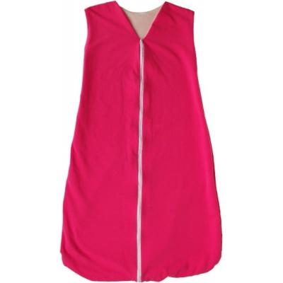 KAARSGAREN-Celoroční merino spací pytel růžový 120 cm
