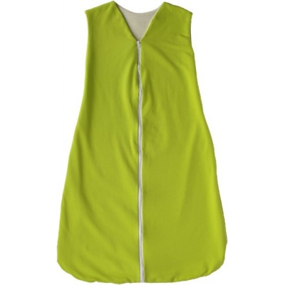 KAARSGAREN-Celoroční merino spací pytel zelený 120 cm