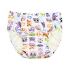 Anavy-Tréninkové kalhoty na patentky Kočky -vel. M