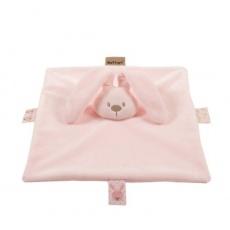 NATTOU Hračka mazlíček Lapidou pink 26cmx26cm