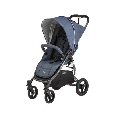 valco baby Kočárek sportovní Valco Snap 4 Tailor Made Denim metalická šedá konstrukce
