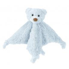 Happy Horse - Přítulka méďa Boogy přítulka s chrastítkem modrá