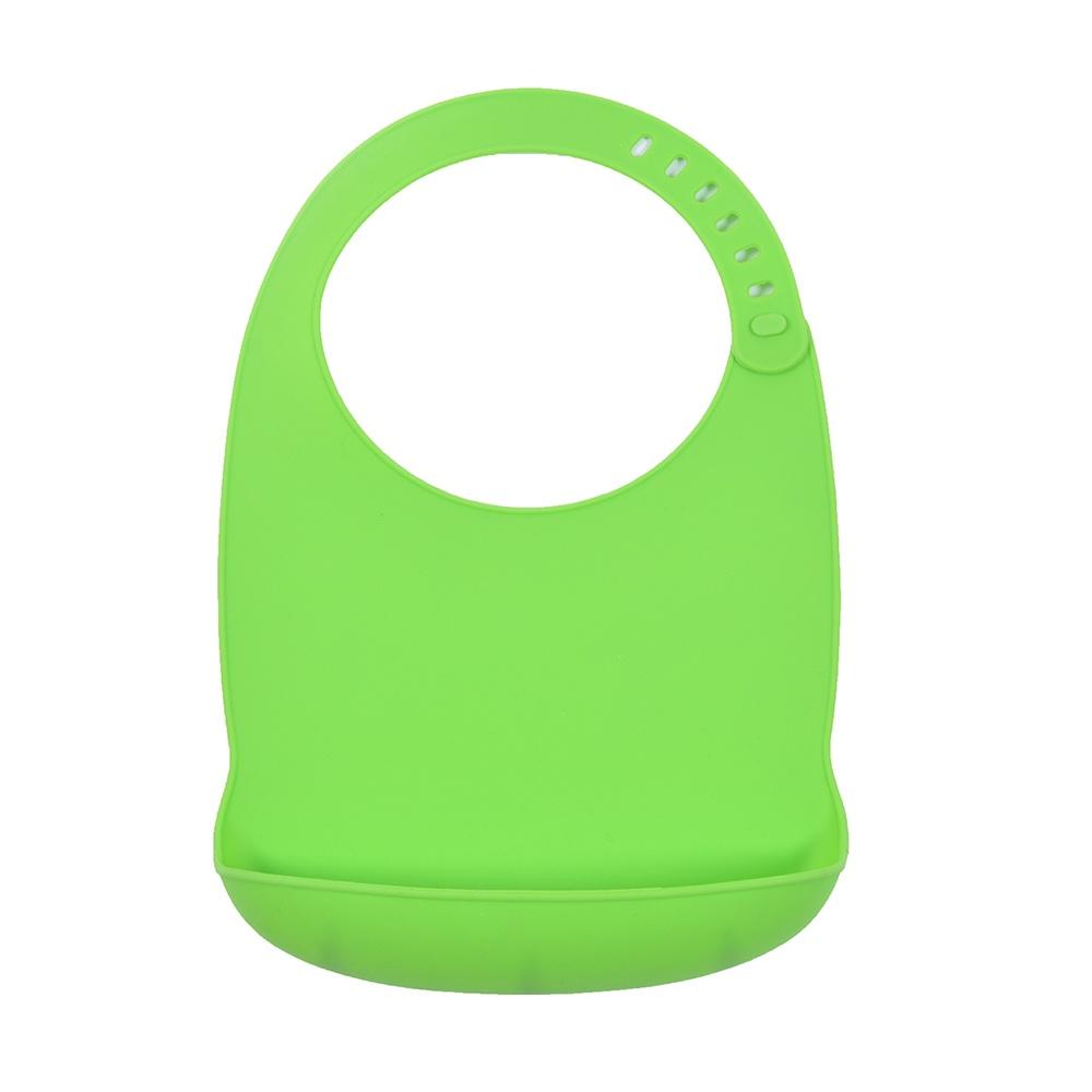 Petite&Mars Bryndák silikonový Sam zelený Petite&Mars