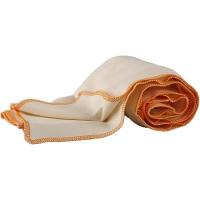 KAARSGAREN-Letní deka z biobavlny oranžový lem