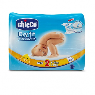 Chicco Plenky Chicco Mini 3-6kg 25 ks