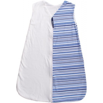 KAARSGAREN-Letní spací pytel modré proužky 90 cm