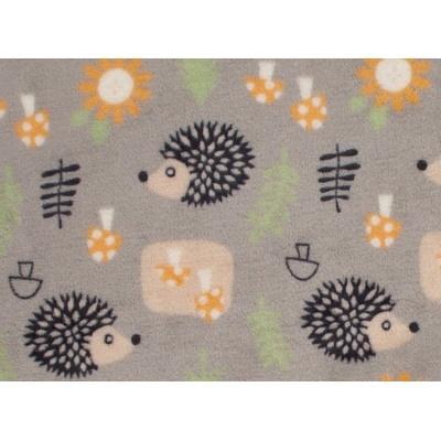 KAARSGAREN-Deka Flanel fleece ježek 70x100cm