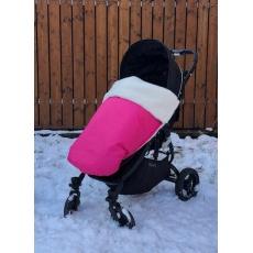 KAARSGAREN-Růžová zimní deka merino nepadací