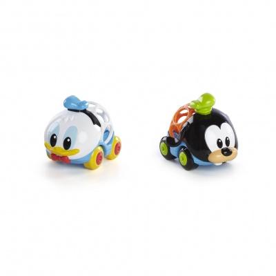 Disney baby Hračka autíčka Donald & Goofy Go Grippers™ 2ks, 6m+