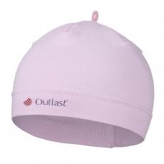 Little Angel-Čepice tenká kojenecká Outlast® - růžová baby Velikost: 2 | 39-41 cm