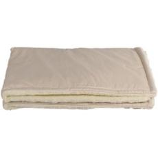 KAARSGAREN-Béžová zimní deka merino