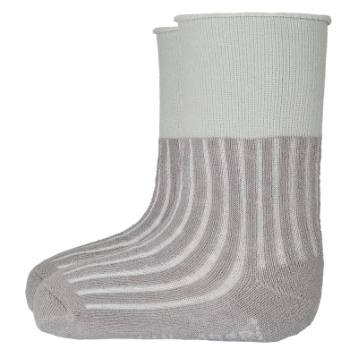 Little Angel-Ponožky froté protiskluz Outlast® - tm.šedá Velikost: 15-19 | 10-13 cm