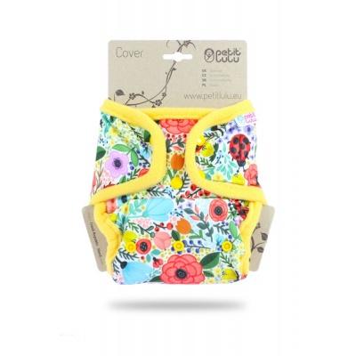 Petit Lulu-Svrchní kalhotky jednovelikostní pat-Rozkvetlá zahrada