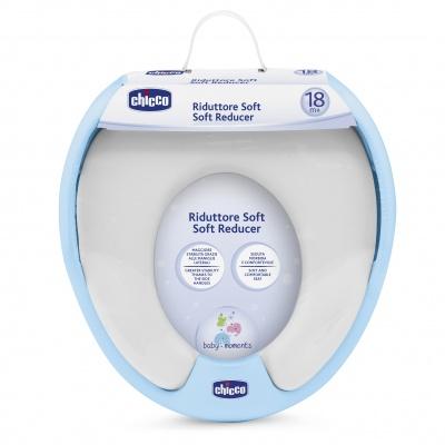 Adaptér na WC Soft modrý