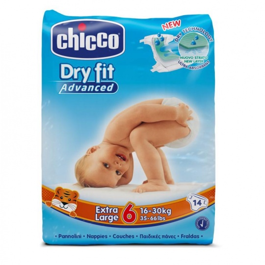 Plenky Chicco Extra Large 16-30kg 14 ks