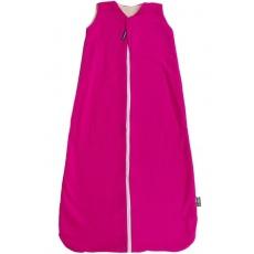 KAARSGAREN-Celoroční merino spací pytel 130 cm růžový