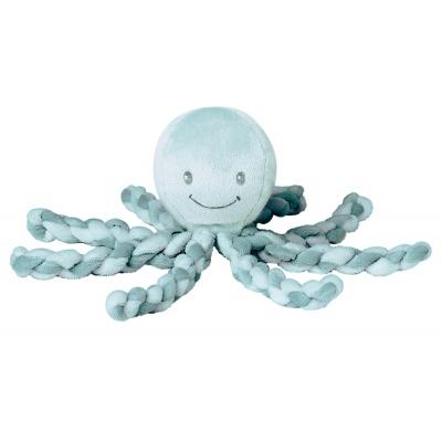 Nattou První hračka miminka chobotnička PIU PIU Lapidou mint 0m +