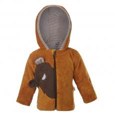 Little Angel-Kabátek MAZLÍK KOALA Outlast® - medová Velikost: 62
