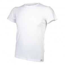Little Angel-Tričko pánské KR tenké výstřih U Outlast® - bílá Velikost: M