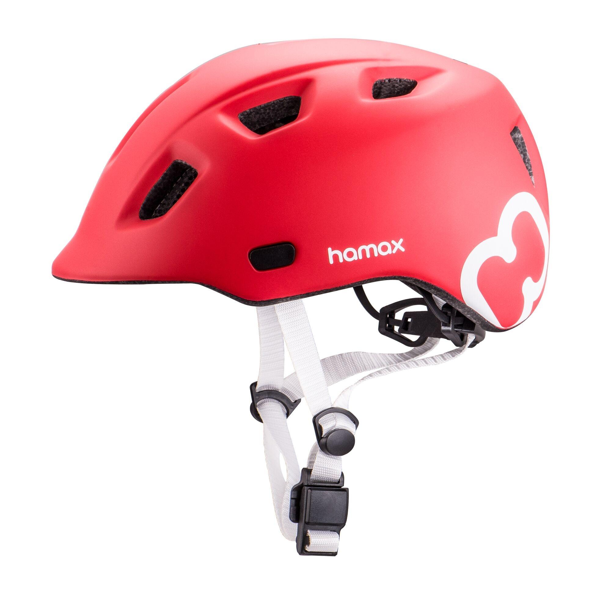 Hamax Cyklohelma Thundercap Red 47-52