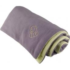 KAARSGAREN-Zateplená dětská deka šedo zelená - doprodej