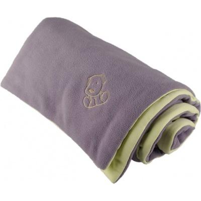 KAARSGAREN-Zateplená dětská deka šedo zelená