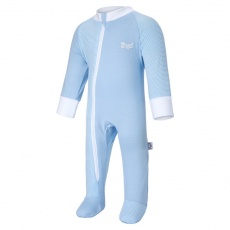 Little Angel-Overal tenký DR Outlast® - sv.modrá/pruh sv.modrobílý Velikost: 68