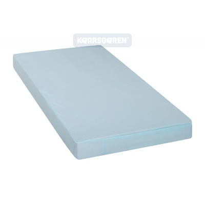KAARSGAREN-2v1 Modré prostěradlo 200x200cm a chránič matrace