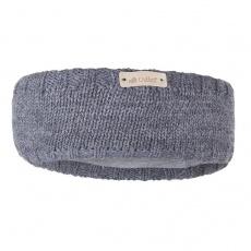 Little Angel-Čelenka pletená hladká Outlast ® - tm.šedá Velikost: 5 | 49-53 cm