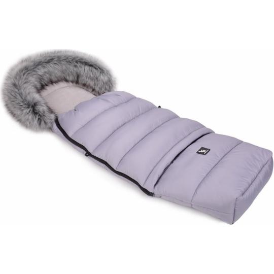 Cottonmoose-Fusak zimní combi sv.šedý, kožich
