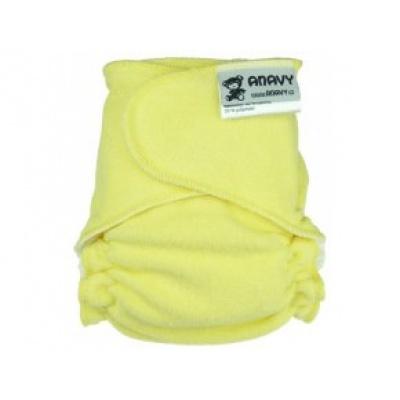 Anavy-Plenka na snappi sponku-bledě žlutá