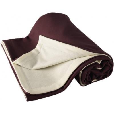 KAARSGAREN-Dětská merino deka hnědá