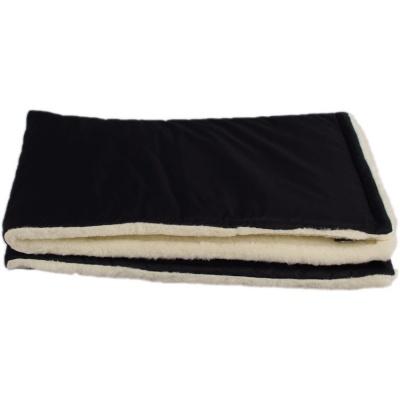 KAARSGAREN-Černá zimní deka merino