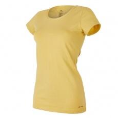 Little Angel-Tričko dámské KR tenké výstřih U Outlast® - oliva Velikost: M