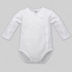 PINOKIO Body knoflíky dlouhý rukáv, bílá, vel.62 BI